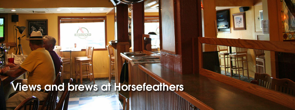 Views and brews at Horsefeathers